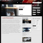 Lavish Motoring, Inc Homepage