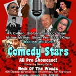 Comedy Stars Showcase Postcard and Poster